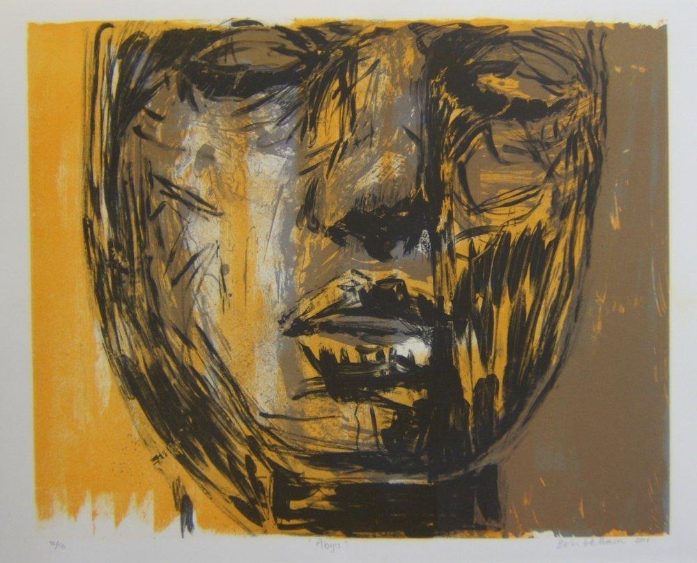 Abyss - myydään kehystettynä, kehyksen koko  100 x 85 cm