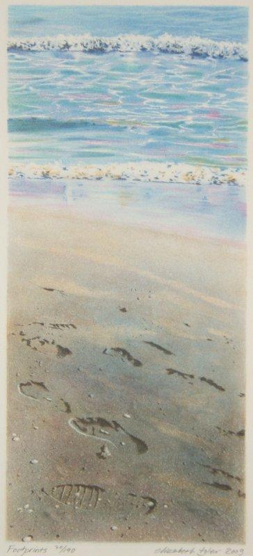 Footprints - Litografia