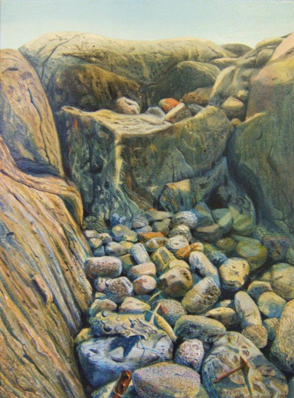 Tankar - kiviä ja kalliota - Maalaus
