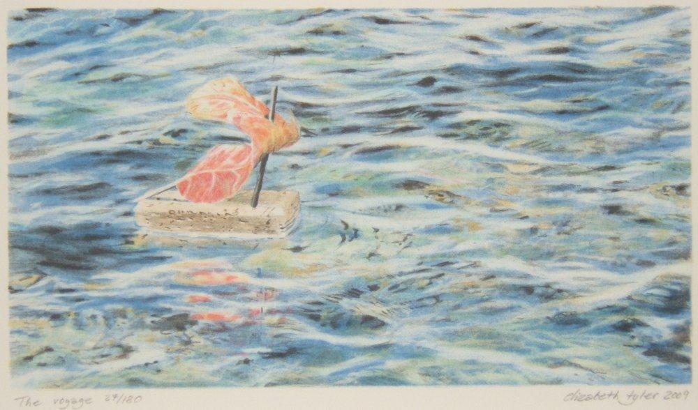 The Voyage - Litografia