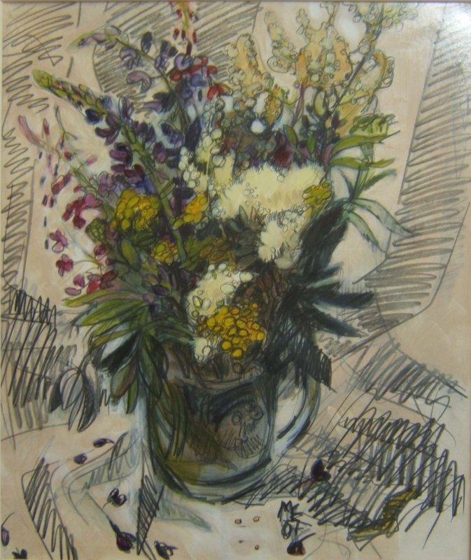 Heinäkuun kukkia, Maija E